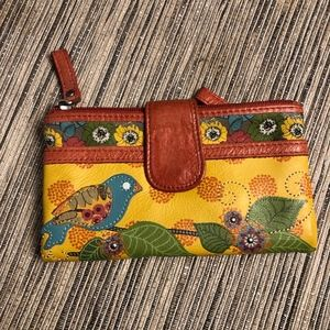 Fossil Birds of a Feather Wallet